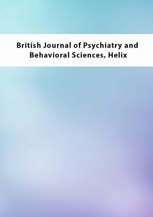 British Journal of Psychiatry and Behavioral Sciences Helix