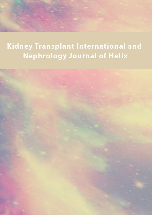 Kidney Transplant International and Nephrology Journal of Helix