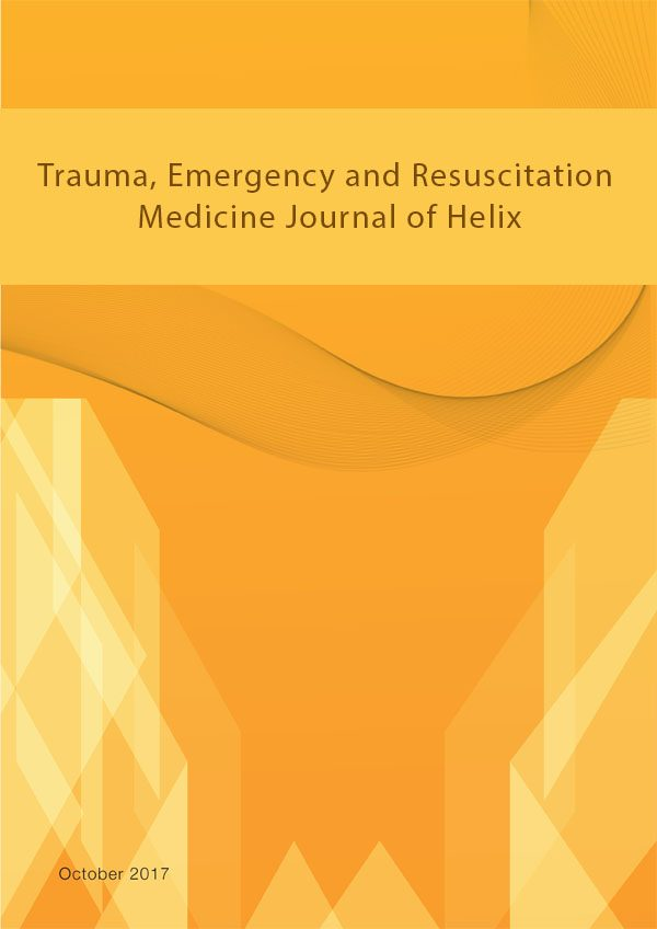 Trauma Emergency and Resuscitation Medicine Journal of Helix