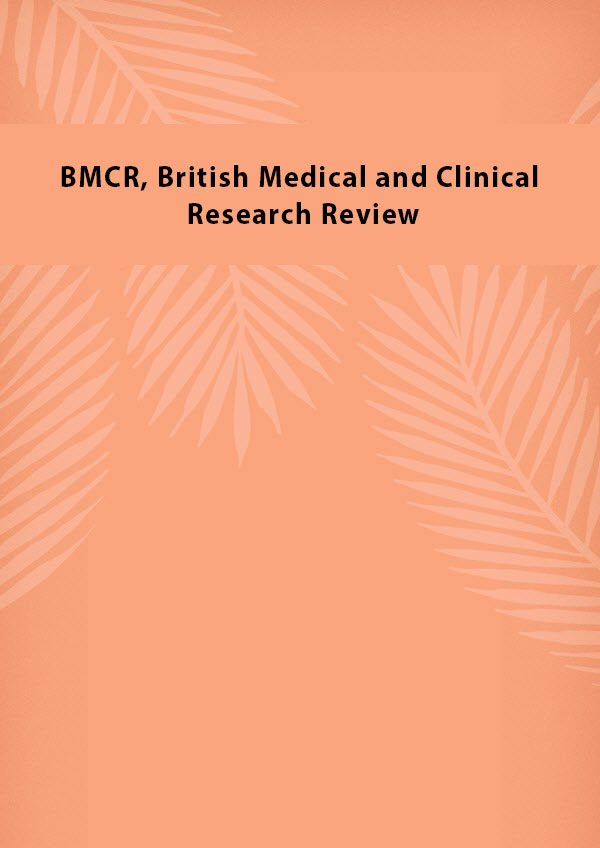 BMCR British Medical and Clinical Research Review